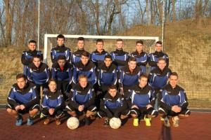 2015 Nemesnádudvar ifjúsági csapat edzésfelszerelésben